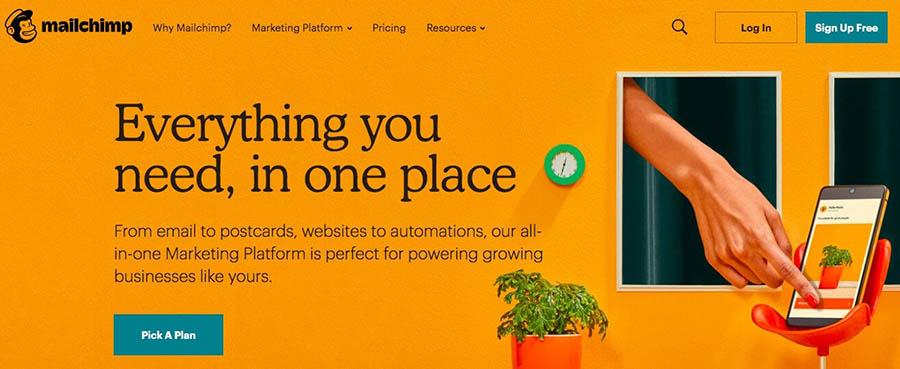 """The Mailchimp email marketing platform."""