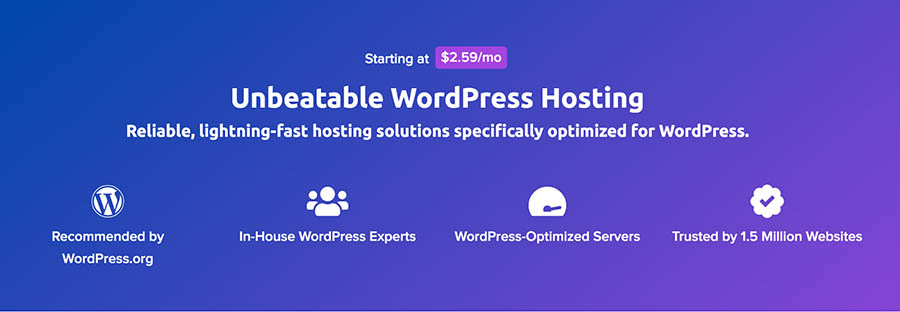 DreamHost WordPress hosting plans.