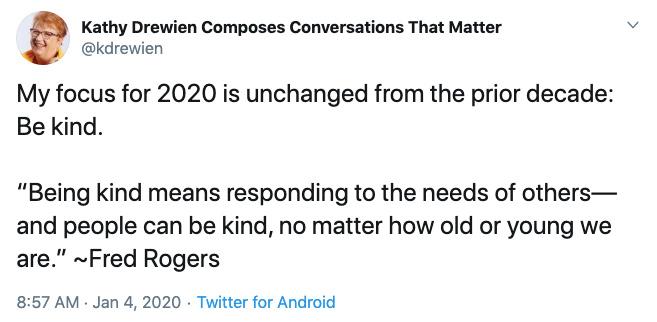 Kathy Drewien on Twitter.