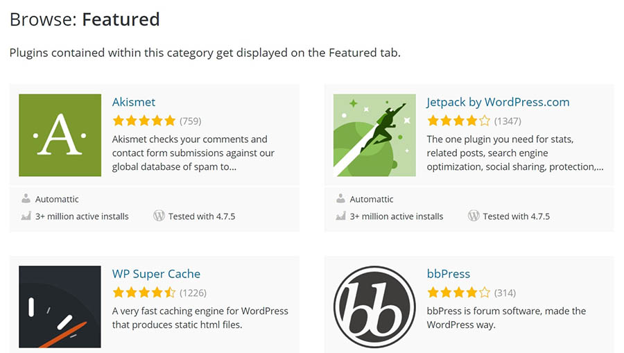 The WordPress.org Plugin Directory