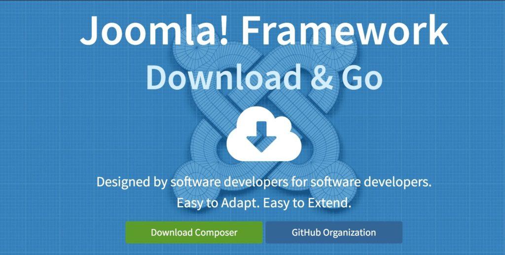 The Joomla! Framework website.