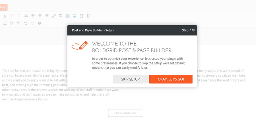 """""""The Post and Page Builder."""""""