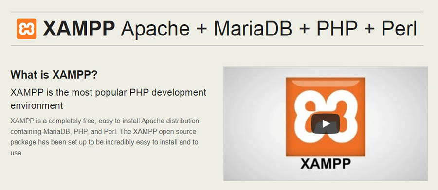 XAMPP PHP Development Environment