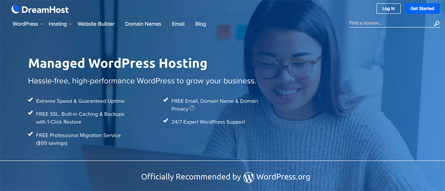 Managed WordPress Hosting from DreamHost