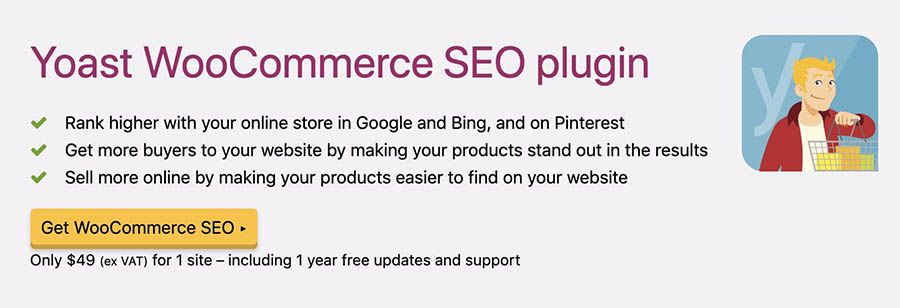 The Yoast WooCommerce SEO plugin.