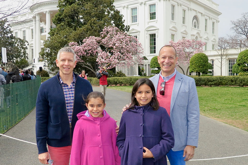 The Bailey-Klughs at the White House