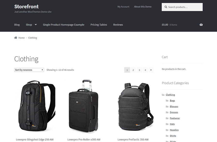 A demo WooCommerce store.