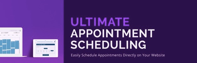 The Ultimate Appointment Scheduling plugin.