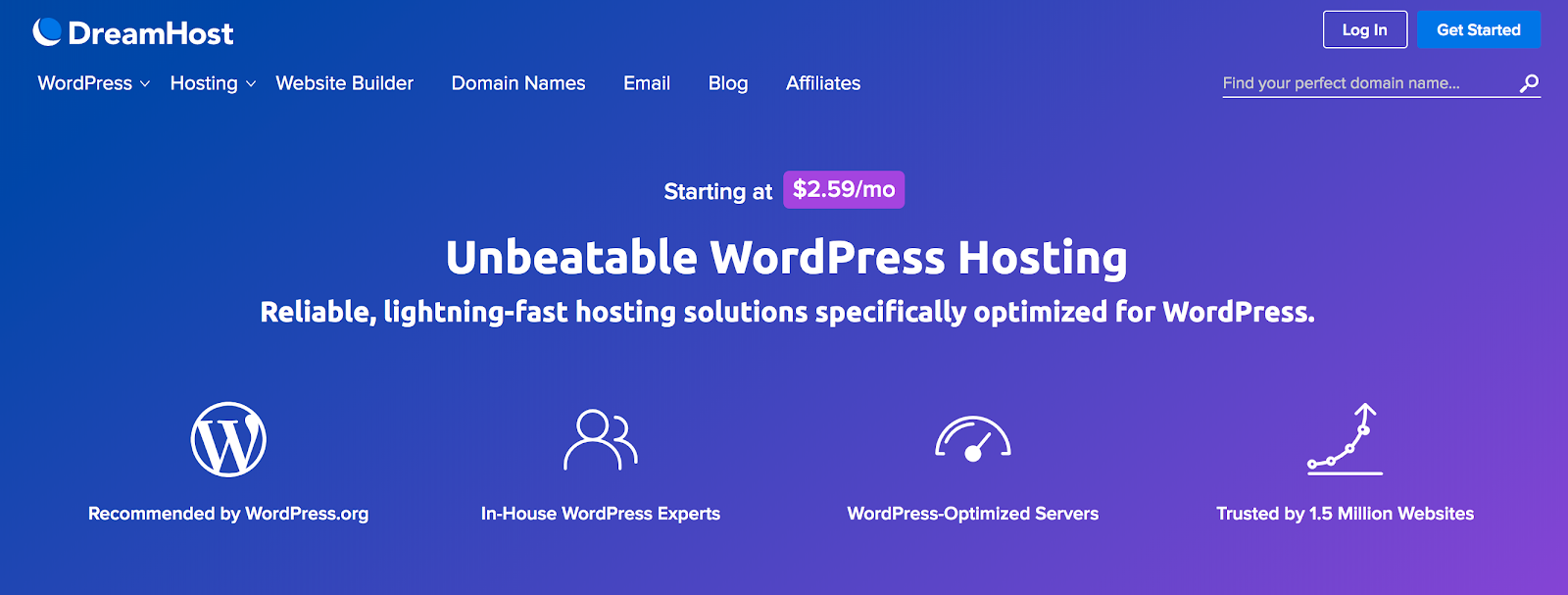 DreamHost's WordPress Hosting