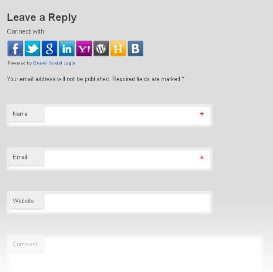The Social Login plugin.