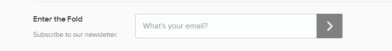 """An email sign-up form."""