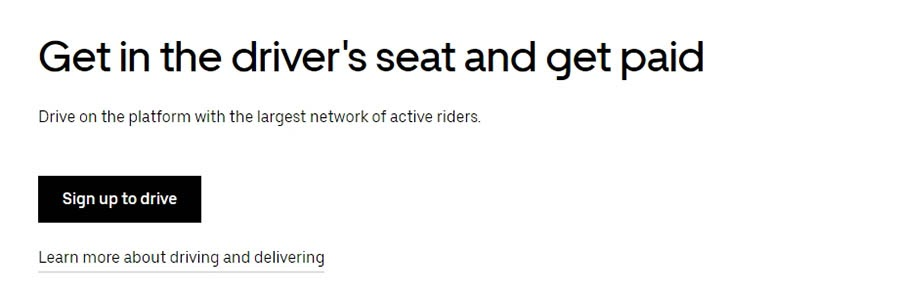 """Uber's sign-up prompt."""