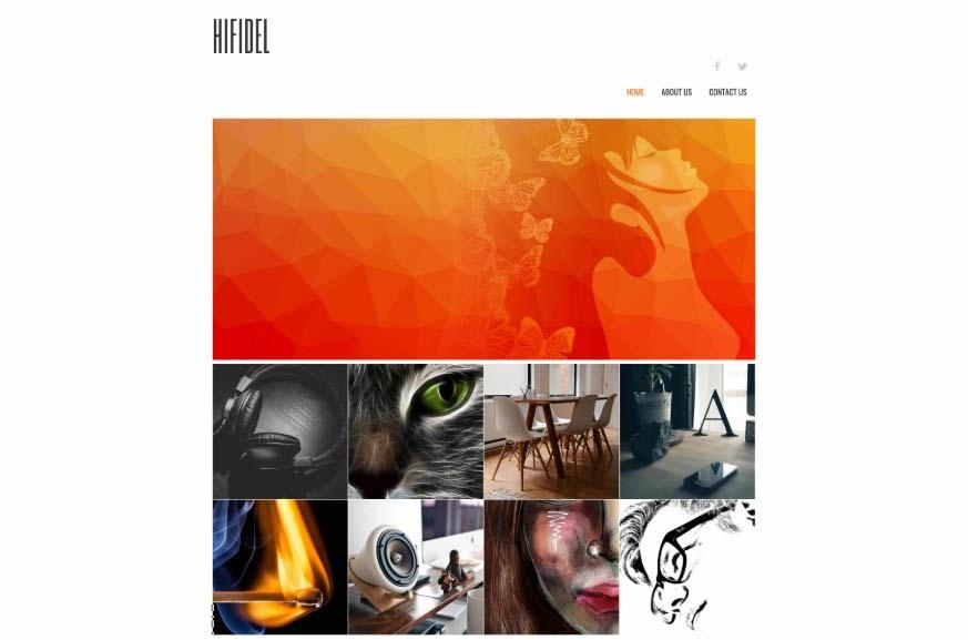 Hifidel's designer layout.