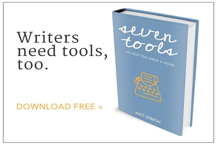 Matt Herron's toolkit for creative writers is a lead magnet example.