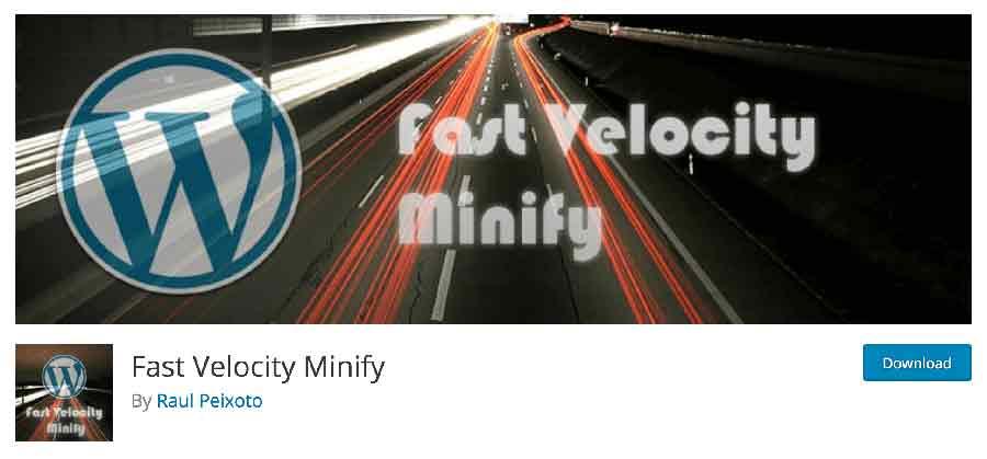 Plugin Fast Velocity Minify