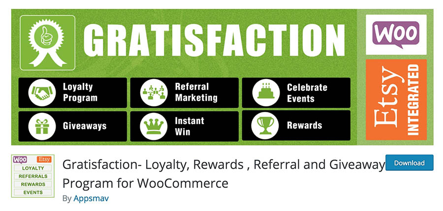https://wordpress.org/plugins/gratisfaction-all-in-one-loyalty-contests-referral-program-for-woocommerce/