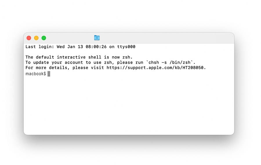 Flushing the DNS cache in MacOS.