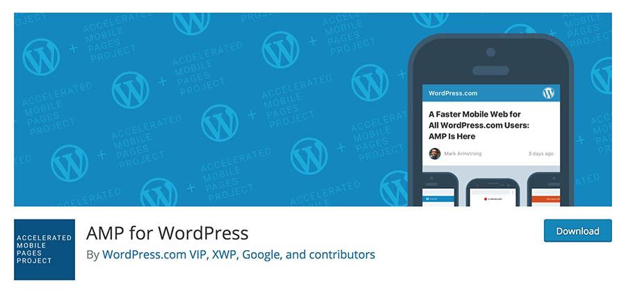Plugin AMP de WordPress