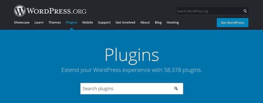 Thư mục Plugin WordPress.