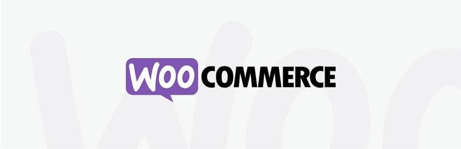 El logo de WooCommerce.
