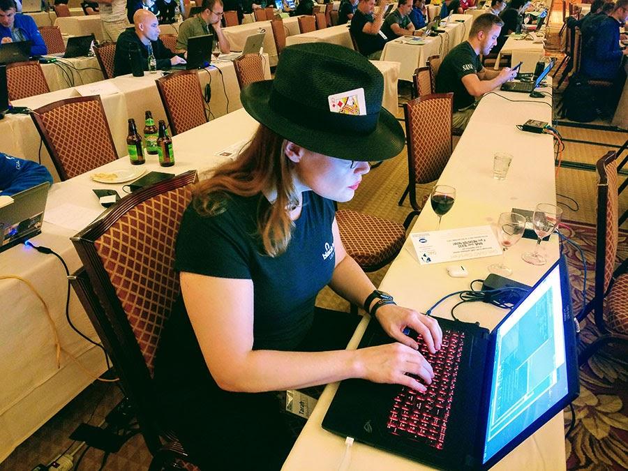 Wheeler at SANS Las Vegas.