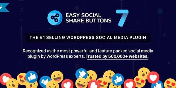 The Easy Social Share Buttons plugin.