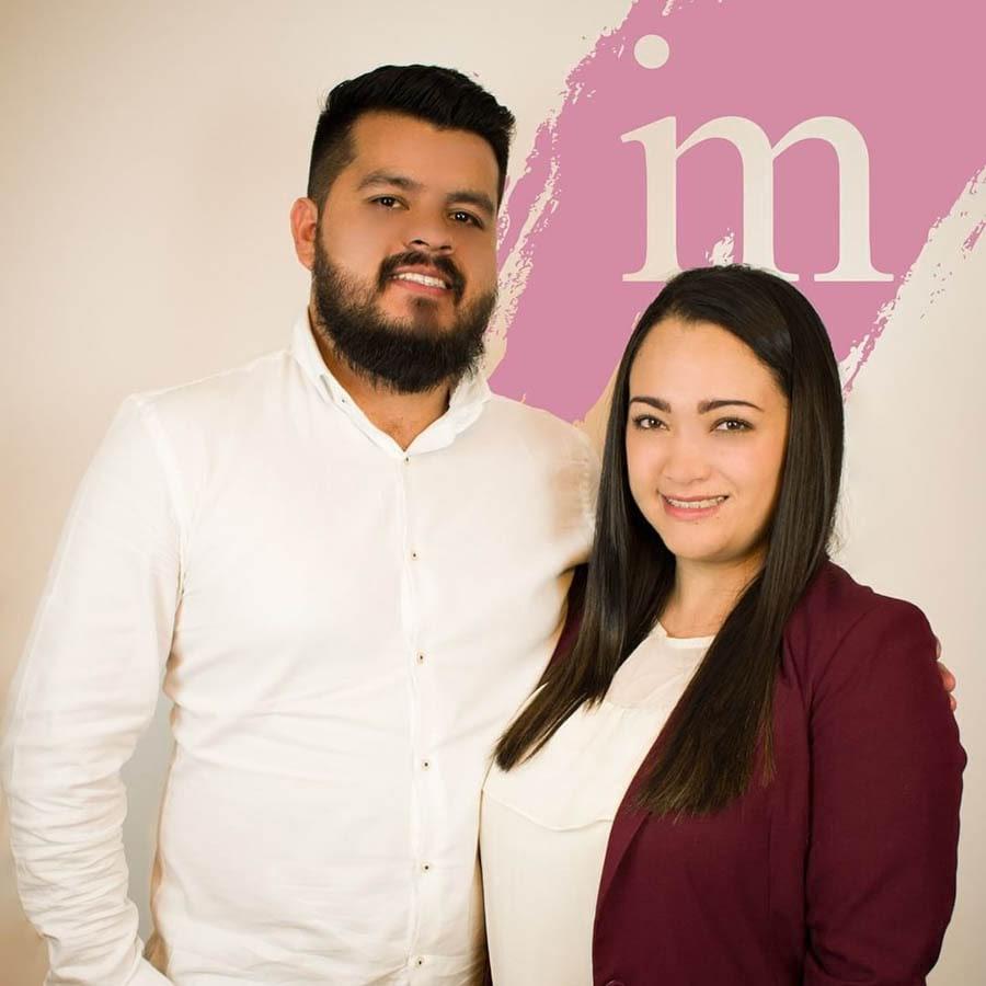 Susan Rodriguez and her husband, Jair Pineda.
