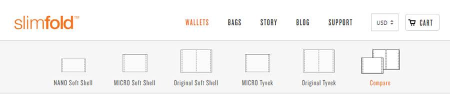 SlimFold tiene una oferta optimizada de productos.