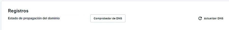 Accediendo el DNS Checker en tu cuenta DreamHost.