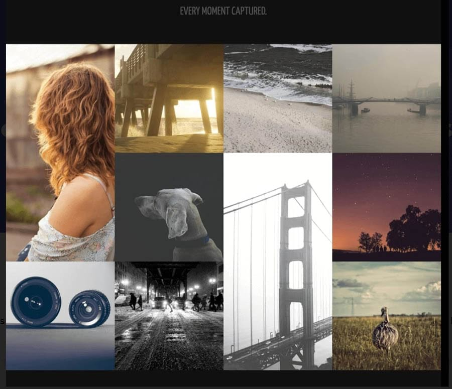 Modal Photography 1 Template